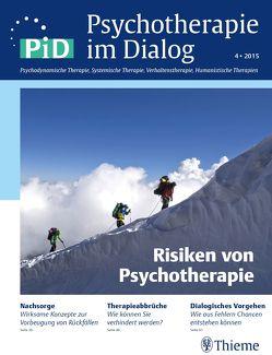 Psychotherapie im Dialog – Risiken von Psychotherapie von Borcsa,  Maria