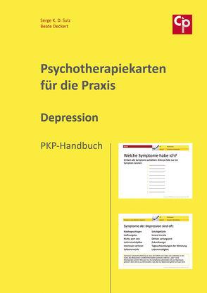 Psychotherapiekarten für die Praxis Depression von Deckert,  Beate, Sulz,  Serge K. D.