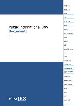 Public International Law Documents von FlexLex