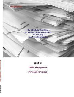 Public Management: Personalbeurteilung von Kirk,  Wolfgang