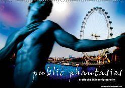 public phantasies – erotische Männerfotografie (Wandkalender 2019 DIN A2 quer) von Fotodesign,  Black&White, Wehrle und Uwe Frank,  Ralf