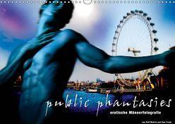 public phantasies – erotische Männerfotografie (Wandkalender 2019 DIN A3 quer) von Fotodesign,  Black&White, Wehrle und Uwe Frank,  Ralf