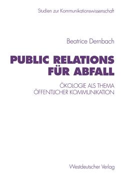 Public Relations für Abfall von Dernbach,  Beatrice