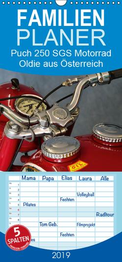 Puch 250 SGS Motorrad – Oldie aus Österreich – Familienplaner hoch (Wandkalender 2019 , 21 cm x 45 cm, hoch) von Laue,  Ingo