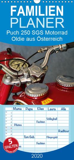 Puch 250 SGS Motorrad – Oldie aus Österreich – Familienplaner hoch (Wandkalender 2020 , 21 cm x 45 cm, hoch) von Laue,  Ingo