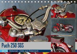 Puch 250 SGS Motorrad – Oldie aus Österreich (Tischkalender 2019 DIN A5 quer)