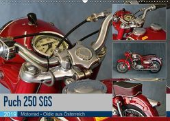 Puch 250 SGS Motorrad – Oldie aus Österreich (Wandkalender 2019 DIN A2 quer) von Laue,  Ingo