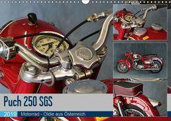 Puch 250 SGS Motorrad – Oldie aus Österreich (Wandkalender 2019 DIN A3 quer) von Laue,  Ingo