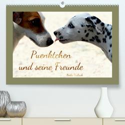 Pünktchen und seine Freunde (Premium, hochwertiger DIN A2 Wandkalender 2021, Kunstdruck in Hochglanz) von Hultsch,  Heike