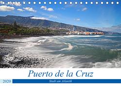 Puerto de la Cruz – Stadt am Atlantik (Tischkalender 2020 DIN A5 quer) von Bussenius,  Beate