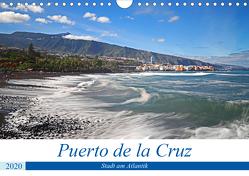 Puerto de la Cruz – Stadt am Atlantik (Wandkalender 2020 DIN A4 quer) von Bussenius,  Beate
