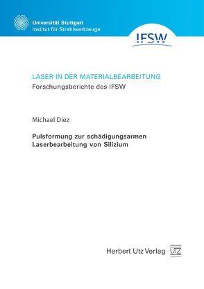 Pulsformung zur schädigungsarmen Laserbearbeitung von Silizium von Diez,  Michael