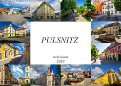 Pulsnitz Impressionen (Wandkalender 2019 DIN A2 quer) von Meutzner,  Dirk