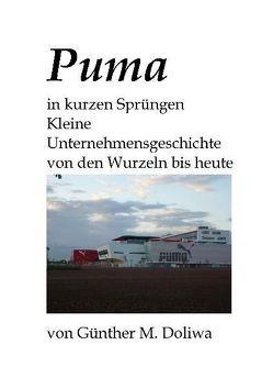 Puma in kurzen Sprüngen von Doliwa,  Günther M