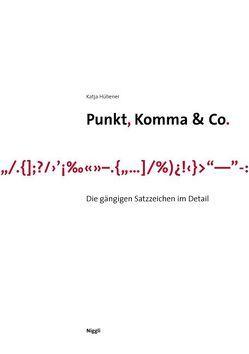 Punkt, Komma & Co. von Hübener,  Katja
