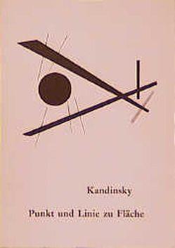 Punkt und Linie zu Fläche von Kandinsky,  Wassily