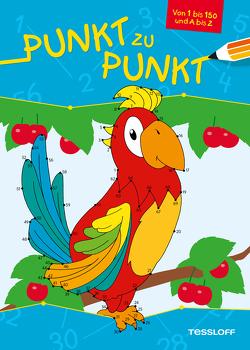 Punkt zu Punkt (Papagei) von Poppins,  Oli
