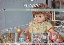 Puppen anno dazumal (Wandkalender 2019 DIN A3 quer) von Portenhauser,  Ralph
