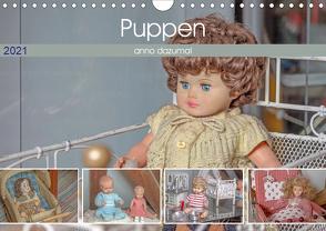 Puppen anno dazumal (Wandkalender 2021 DIN A4 quer) von Portenhauser,  Ralph