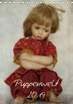 Puppenwelt 2019 (Tischkalender 2019 DIN A5 hoch) von Arnold,  Hernegger
