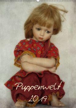 Puppenwelt 2019 (Wandkalender 2019 DIN A2 hoch) von Arnold,  Hernegger