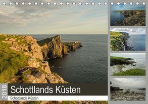 Pure Faszination – Schottlands Küsten (Tischkalender 2018 DIN A5 quer) von Potratz,  Andrea