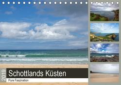 Pure Faszination – Schottlands Küsten (Tischkalender 2019 DIN A5 quer) von Potratz,  Andrea