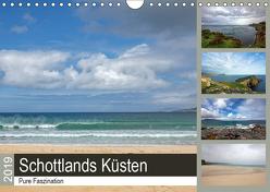 Pure Faszination – Schottlands Küsten (Wandkalender 2019 DIN A4 quer) von Potratz,  Andrea