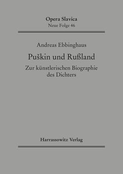 Puskin und Russland von Ebbinghaus,  Andreas