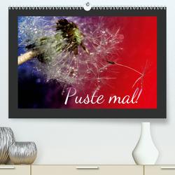 Puste mal! (Premium, hochwertiger DIN A2 Wandkalender 2021, Kunstdruck in Hochglanz) von Hultsch,  Heike