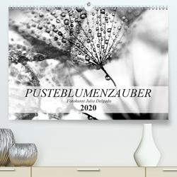 Pusteblumenzauber in schwarzweiß (Premium, hochwertiger DIN A2 Wandkalender 2020, Kunstdruck in Hochglanz) von Delgado,  Julia