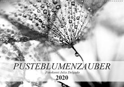 Pusteblumenzauber in schwarzweiß (Wandkalender 2020 DIN A2 quer) von Delgado,  Julia