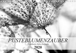 Pusteblumenzauber in schwarzweiß (Wandkalender 2020 DIN A4 quer) von Delgado,  Julia