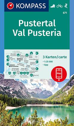 Pustertal – Val Pusteria von KOMPASS-Karten GmbH