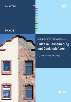 Putze in Bausanierung und Denkmalpflege von Dettmering,  Tanja, Kollmann,  Helmut