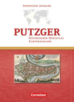 Putzger – Historischer Weltatlas – (104. Auflage) von Berg,  Rudolf, Böttcher,  Christina, Bruckmüller,  Ernst, Dloczik,  Manfred, Hartmann,  Peter Claus, Kasper,  Ralf, Rentsch,  Jörg, Sauerländer,  Dominik, Warnatsch,  Stephan