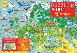 Puzzle & Buch: Europa von Hammond,  The Boy Fitz, Melmoth,  Jonathan
