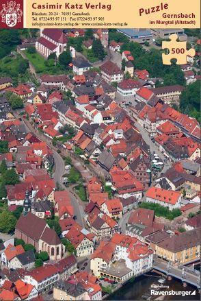 Puzzle Gernsbach Altstadt 500 Teile