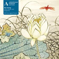 Puzzle – Ren Xiong, Lotusblume und Drachenfliege