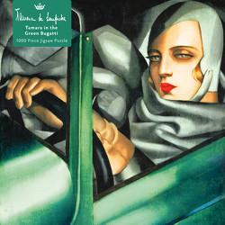 Puzzle – Tamara de Lempicka, Tamara im grünen Bugatti