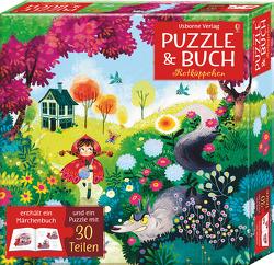 Puzzle und Buch: Rotkäppchen von Alvarez,  Lorena, Jones,  Rob Lloyd