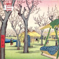 Puzzle – Utagawa Hiroshige, Pflaumengarten