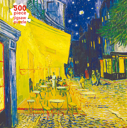 Puzzle – Vincent van Gogh: Caféterrasse am Abend