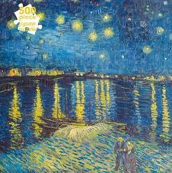 Puzzle – Vincent van Gogh: Sternenlicht über der Rhone