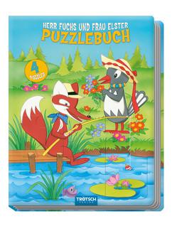 "Puzzlebuch ""Herr Fuchs und Frau Elster"""
