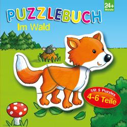 Puzzlebuch Im Wald von Brüggemann,  Vera