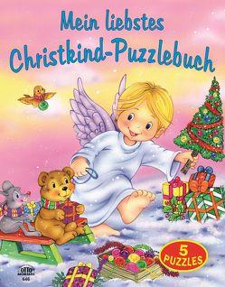 Puzzlebuch – Mein liebstes Christkind-Puzzlebuch