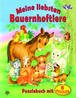 """Puzzlebuch """"Meine liebsten Bauernhoftiere"""""""