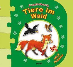 Puzzlebuch Tiere im Wald