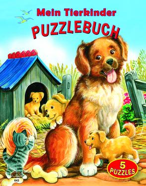 Puzzlebuch Tierkinder